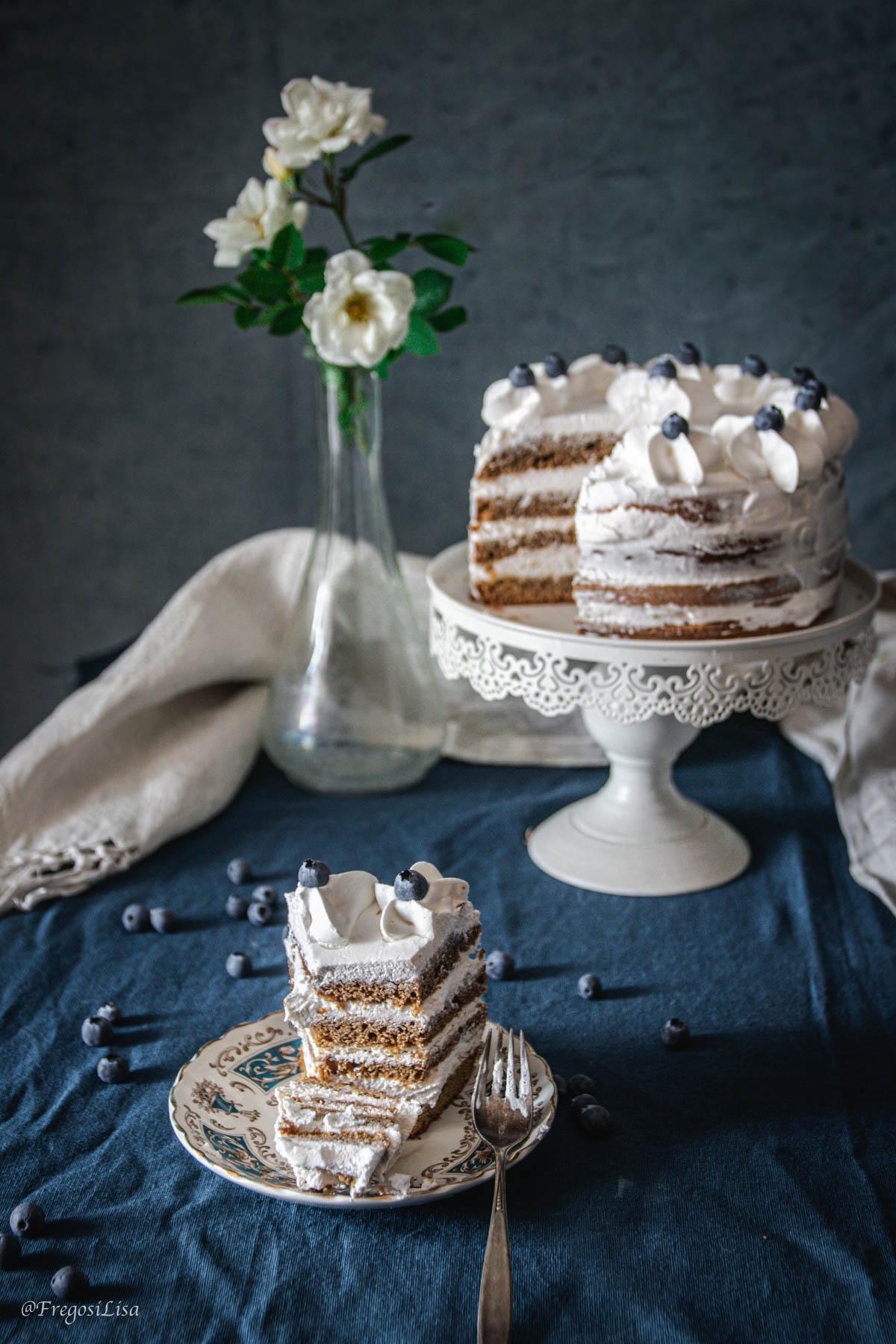 la 4/4 come base per fare una naked cake
