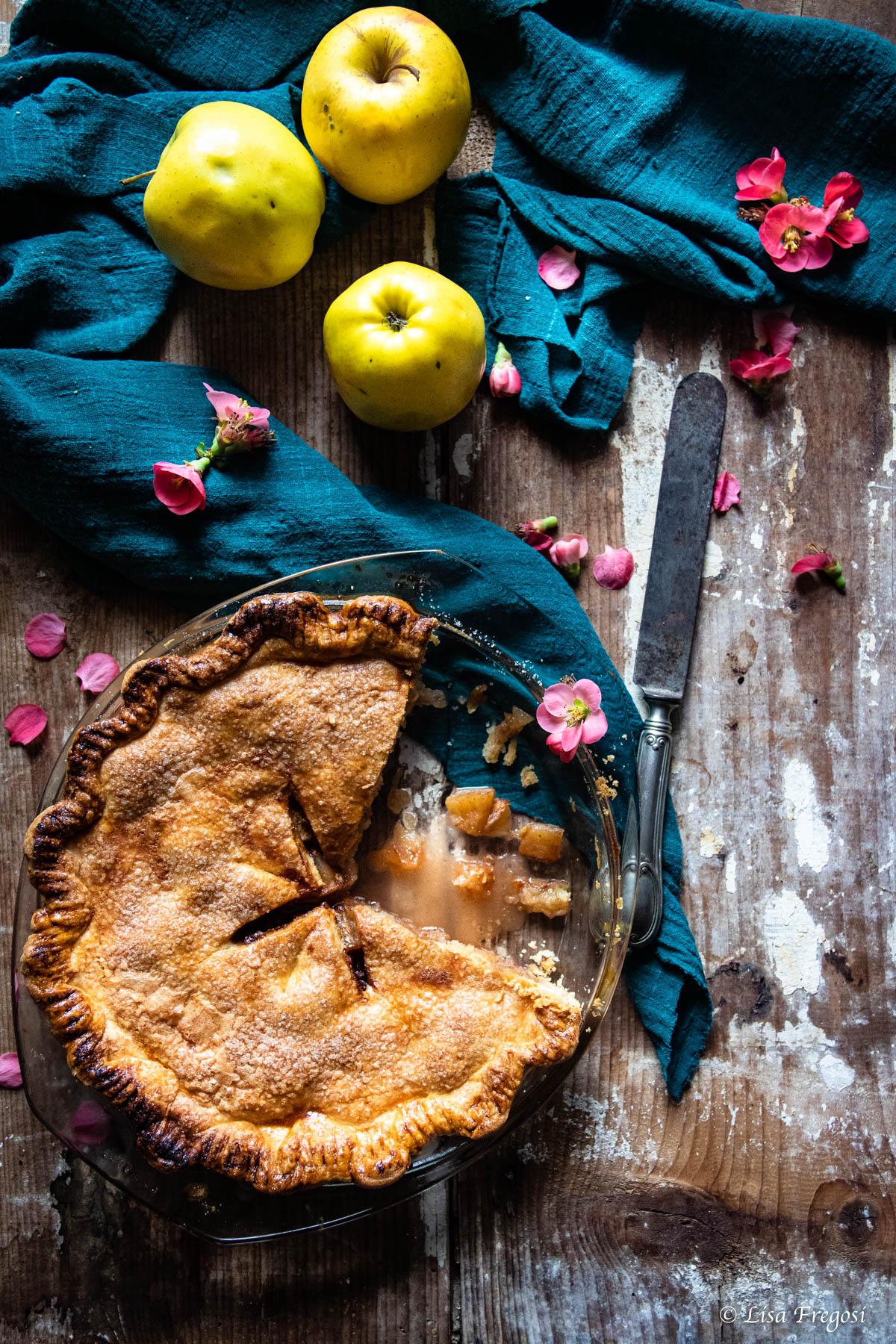 quali mele usare per l'apple pie americana