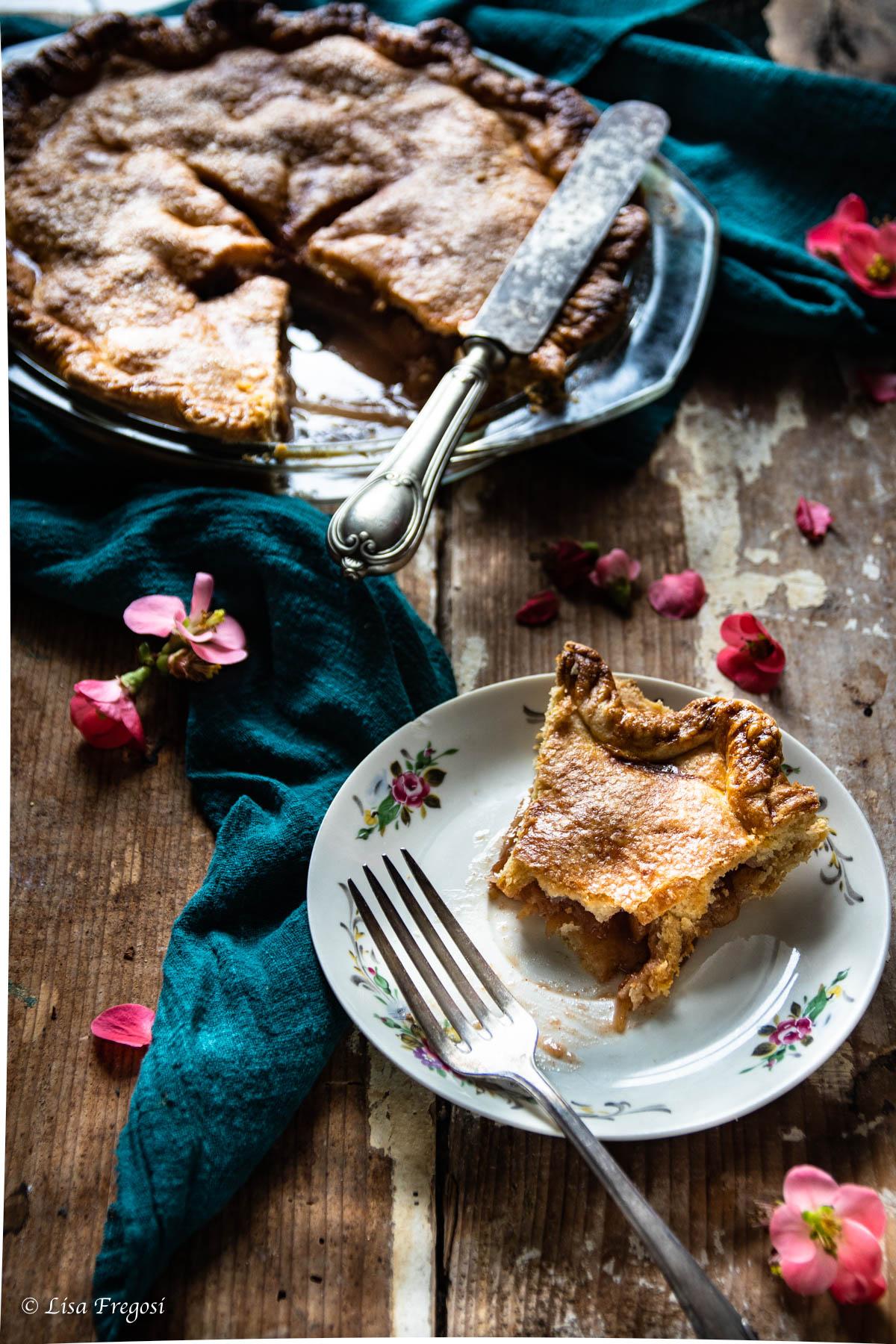 come conservare l'apple pie, La ricetta dell'apple pie americana