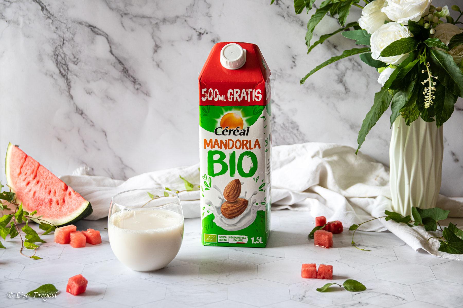 Il latte alle mandorle bio Céréal, ricette in cui utilizzarlo