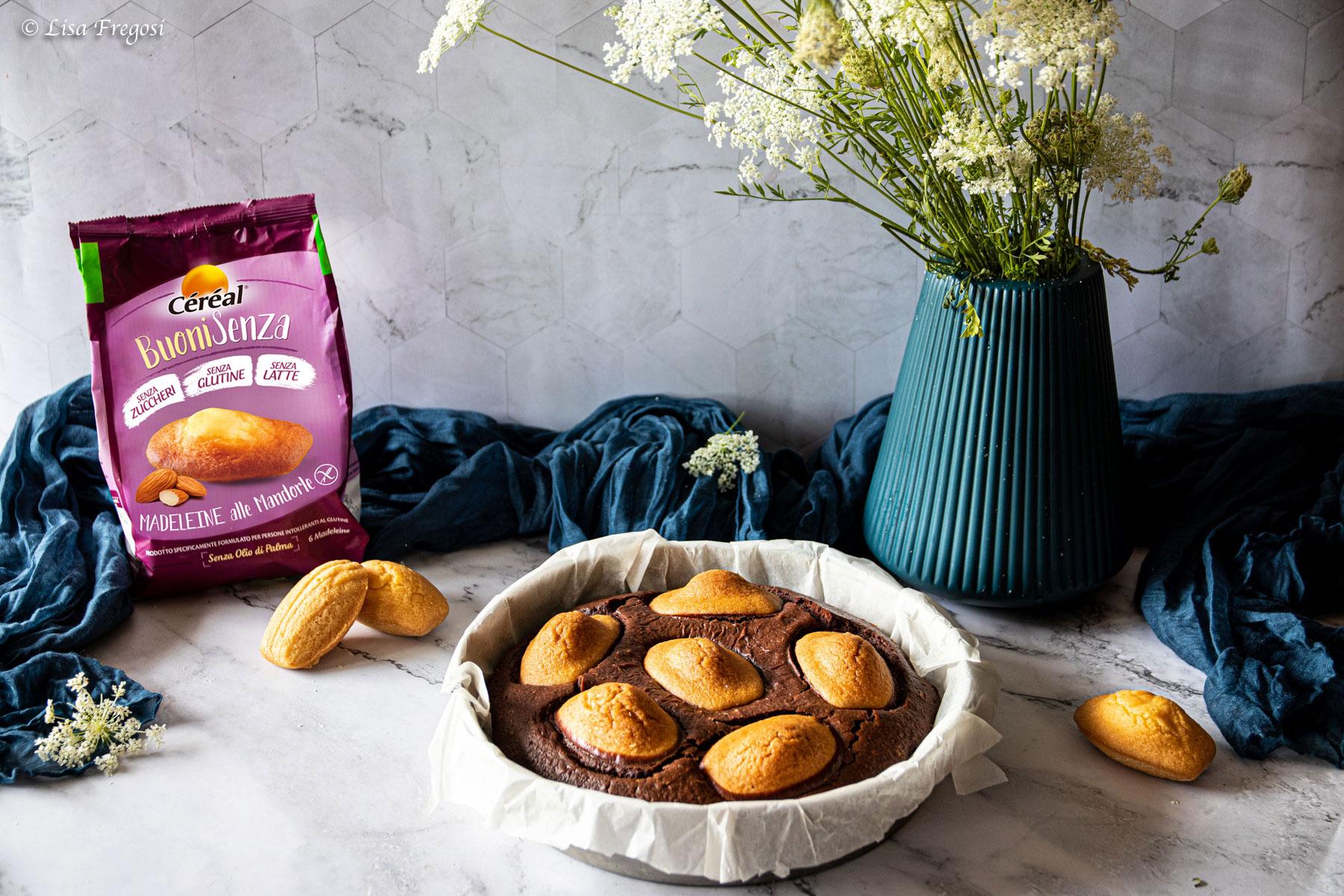 fondant con madeleines ricetta